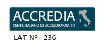 logo accredia, ente italiano accreditamento per laboratori di taratura strumenti